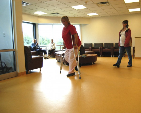 Patients leave the lobby of the new, $5.4 million Health Access Network office building in Lincoln in July 2009. Health Access Network will open a satellite medical clinic at Lee Academy by winter to serve students and the surrounding communities, Headmaster Bruce Lindberg said Sunday.