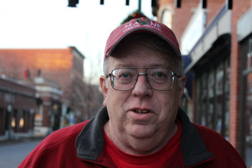 Rockland Mayor Brian Harden