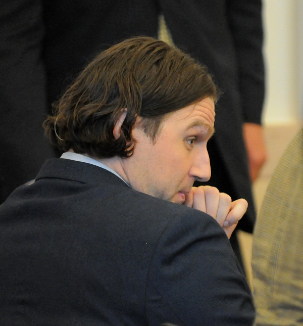 Colin Koehler of Bangor sits in the the court room during his sentencing at the Penobscot Judicial Center in Bangor in June 2011.