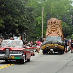 Thomaston celebrates with annual Fourth of July parade, L.L. Bean puts on show in Freeport
