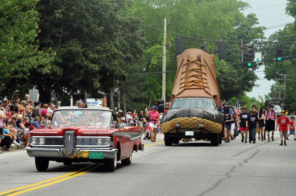 L.L. Bean is wrapping up its weeklong 100th anniversary celebration on Saturday, July 7, 2012 with and event that will feature musician Chris Isaak as well as a fireworks display in the company's hometown of Freeport.