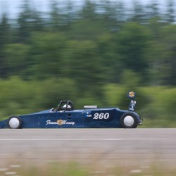 Car, motorcycle competitors to seek record speeds at Loring's Land Speed Races