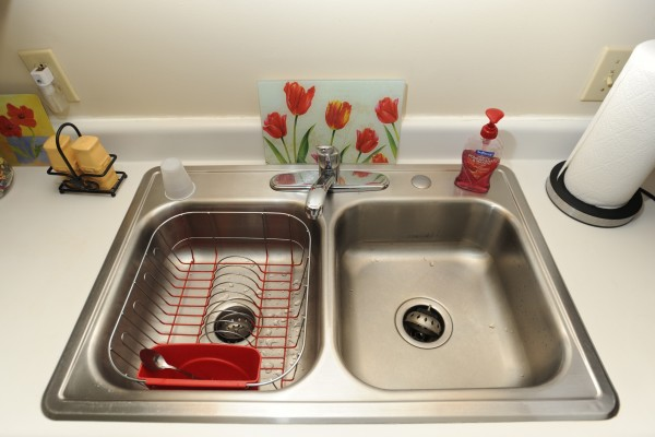 Stainless steel sink, Stillwater Avenue, Bangor. Thursday, July 12, 2012.