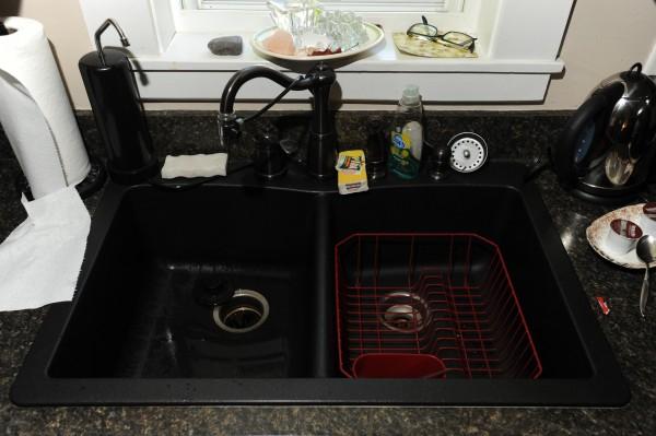 Composite sink, Maple Street, Bangor. Thursday, July 12, 2012.