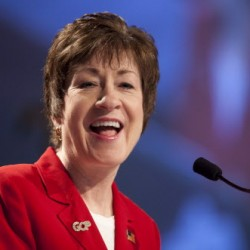 She's never missed a vote: Collins casts 4,000th consecutive