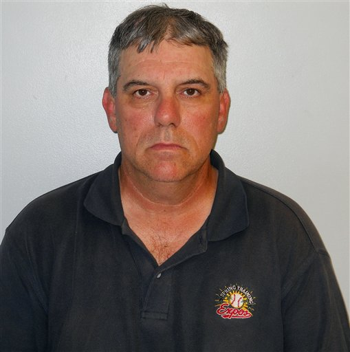 Concord, N.H. police released this handout photo of Robert Joubert of Manchester, N.H. The longtime youth baseball and hockey coach from New Hampshire has been charged with multiple counts of sexual assault against boys.