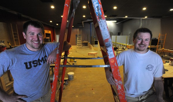 Matt Brann (left) and Michael Bjork bought the former Club Gemini in Bangor. They are in the process of renovating the space and will re-open it as the Half Acre night club in mid-August.