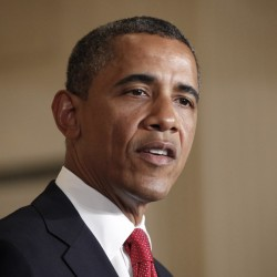 Drop in jobless rate gives Obama some good news