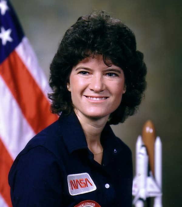 This undated photo released by NASA shows astronaut Sally Ride. Ride, the first American woman in space, died Monday, July 23, 2012 after a 17-month battle with pancreatic cancer. She was 61.