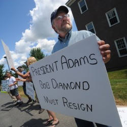 Occupy Augusta protesters want former Barclays chief out of Colby College
