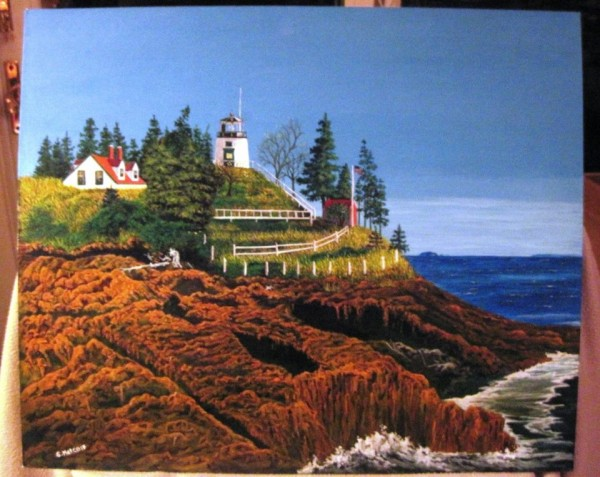 Owls Head Light by Stan