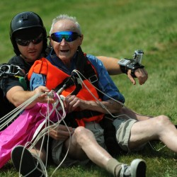 Exeter man to go skydiving for first time for 90th birthday celebration