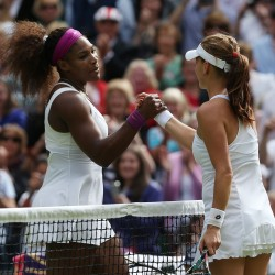 Serena dominates, Venus improves at Family Circle