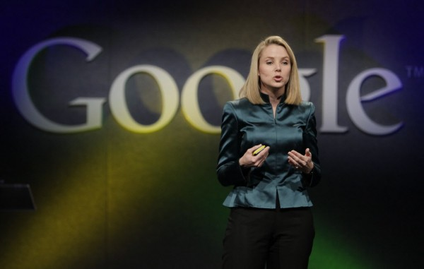 Marissa Mayer, VP of Search Products and User Experience for Google, speaks in Mountain View, Calif., in 2009. Yahoo announced Monday, July 16, 2012, it is hiring Mayer to be its next CEO, the fifth in five years as the company struggles to rebound from years of financial malaise and internal turmoil.