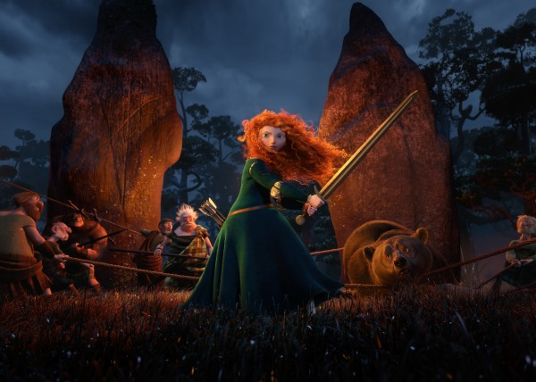 In this undated publicity image released by Disney/Pixar, Princess Merida is shown in the 3D computer-animated Disney/Pixar film &quotBrave.&quot