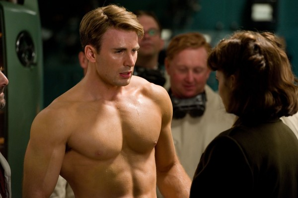 Chris Evans plays Steve Rogers and Hayley Atwell plays Peggy Carter in &quotCaptain America&quot and &quotThe Avengers.&quot Evans trained two hours a day, four to five times a week for four months for &quotCaptain America,&quot and he reportedly put on 20 pounds in four weeks when he reprised the role in &quotThe Avengers.&quot