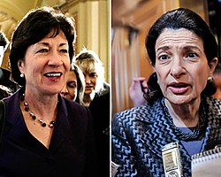 Collins votes with Dems to kill Bush-era tax cuts; Senate approves higher taxes for wealthy