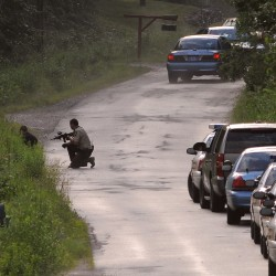 Hermon man shot himself during standoff; state police trooper shot man's leg