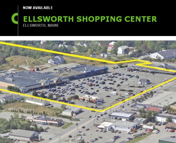 A listing for the sale of the Ellsworth Shopping Center included this image.
