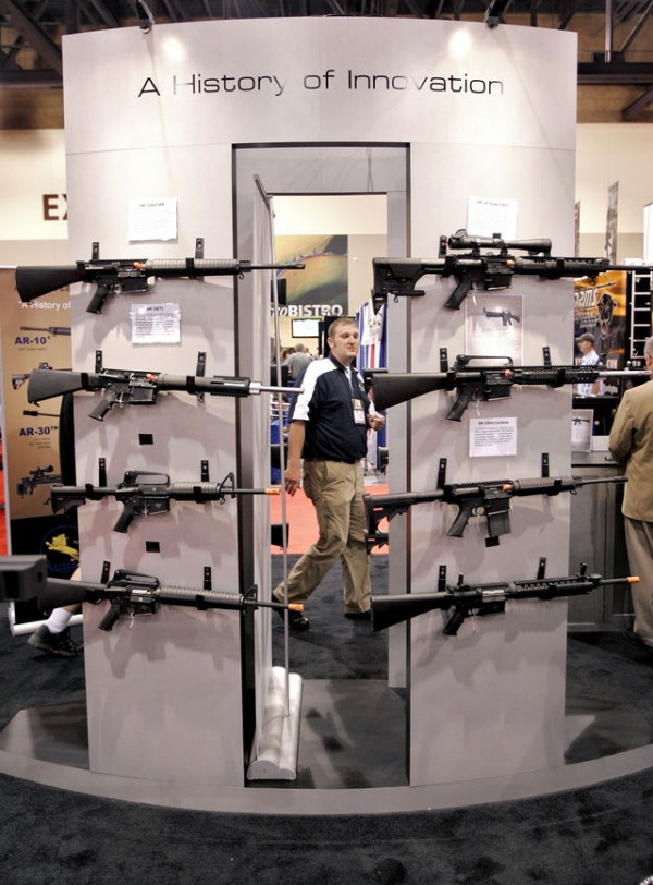 Attendees at the National Rifle Association's 138th Annual Meetings & Exhibits on May 15, 2009 in Phoenix.