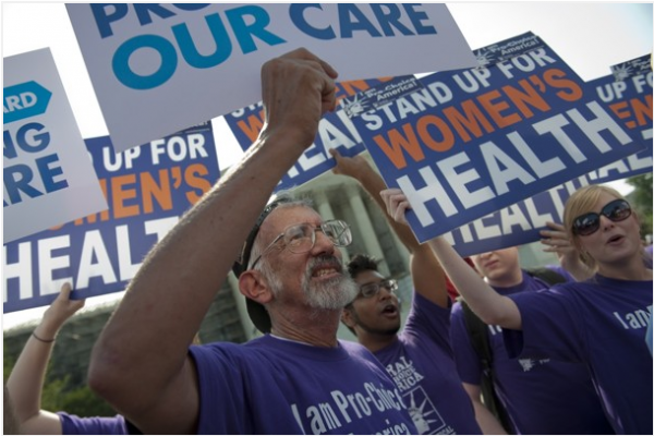 The Supreme Court's decision to uphold the Affordable care Act has promoted groups to spend millions on attack ads.