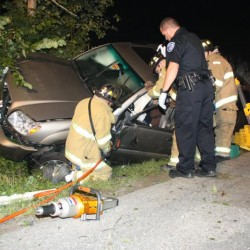 Searsmont woman uninjured after SUV flips in Rockland