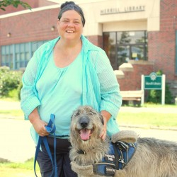 UMaine Machias program to work with disabled to train service dogs