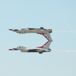 'Hometown Hero' has the ride of a lifetime with U.S. Air Force Thunderbirds