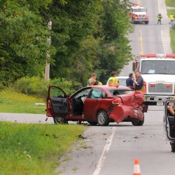 Crash on Union Street in Hermon sends four to the hospital