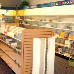 The cupboards will soon be bare at the University of Maine at Machias bookstore, which is being closed as students are transitioning to buying new and used textbooks