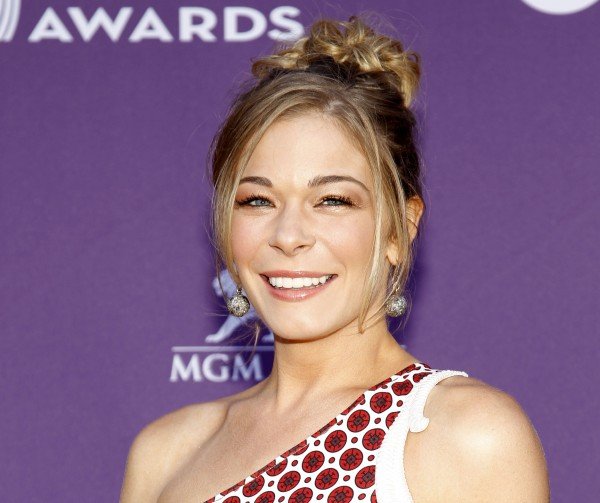 Country singer and actess LeAnn Rimes arrives at the 47th Annual Academy of Country Music Awards in Las Vegas in April 2012. The 30-year-old Rimes checked into a a 30-day in-patient treatment facility for anxiety and stress Wednesday, Aug. 29.