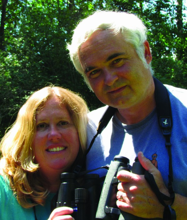 "Allison Childs Wells and Jeffrey V. Wells, authors of  ""Maine's Favorite Birds.&quot"
