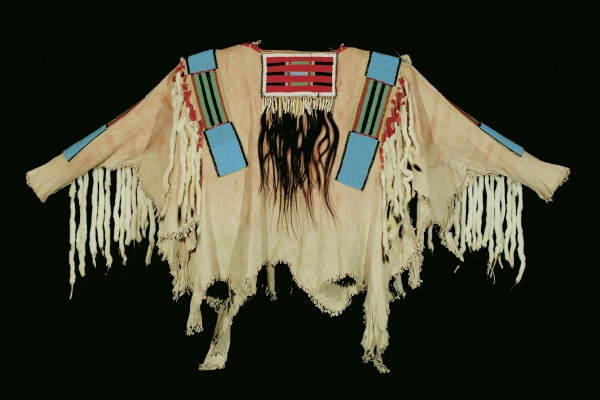 The war shirt worn by Chief Joseph of the Nez Perce tribe sold for $877,500 in a recent Coeur D'Alene Art Auction.