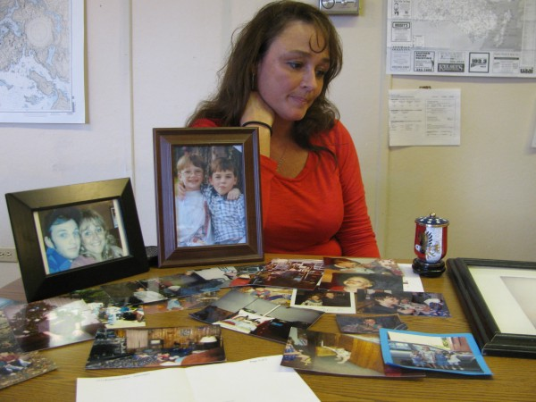 Rhonda Seaney remembers her son, Tyler Seaney, Thursday afternoon, Aug. 16, 2012 in Belfast. Tyler Seaney was shot to death at the age of 19 in February 2011 by his friend, Luke Bryant of Knox. Bryant was convicted of manslaughter last week by a Waldo County Superior Court jury. He is scheduled to be sentenced this fall for the crime.