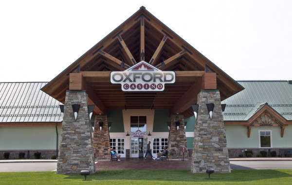 The Oxford Casino is seen Thursday, Aug. 30, 2012, in Oxford. Maine's newest casino had more than $8 million in gambling winnings in its first two months of operation, which is roughly double the amount the state's first casino had in its first two months seven years ago.