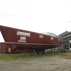 Feds to auction off 'robust' 70-foot sailboat in Thomaston
