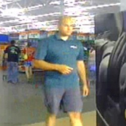 Scarborough police seek man accused of using shoe camera to look up women's skirts
