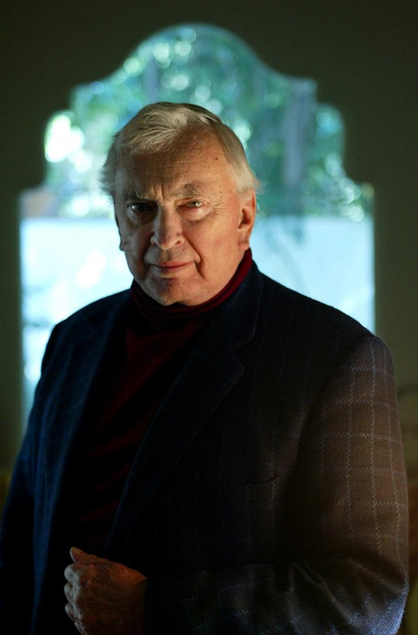 Author Gore Vidal, shown here in 2003, died on Tuesday, July 31, 2012, at age 86.