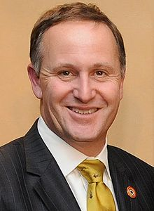 New Zealand Prime Minster John Key