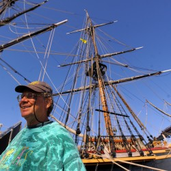 World's biggest sloop comes to Maine