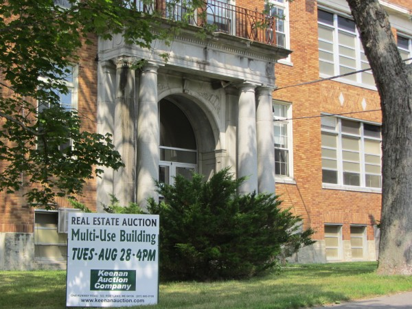 The former Lincoln Street school in Rockland will be sold at auction on Aug. 28, 2012.