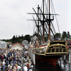 The last moments of the Bounty, the ship with Maine ties that fought Sandy and lost