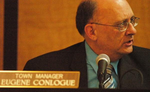 Millinocket Town Manager Eugene Conlogue