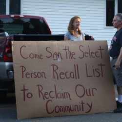 Limestone board tables action on recall petition
