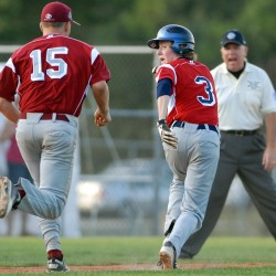 Hampden beats Bangor, advances to championship round in D3 Senior League tourney
