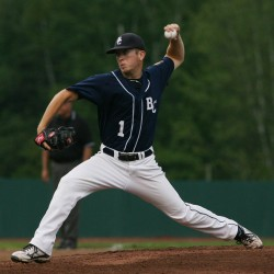 Worcester pitches Bangor baseball past Brewer