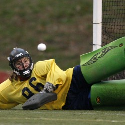 Belfast field hockey coach credits players' leadership, play in middle for state-title berth