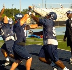 Mainers hope to do state proud on UMaine football team