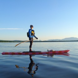 Midcoast adventurer aims to expand paddle boarding in Maine