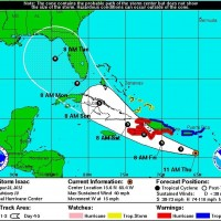 GOP convention delayed as Florida prepares for Isaac